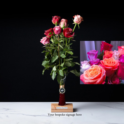 618 RBSV 7 long stemmed Roses - Sydney Delivery Only