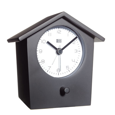 KooKoo - Early Bird - Alarm Clock - Black