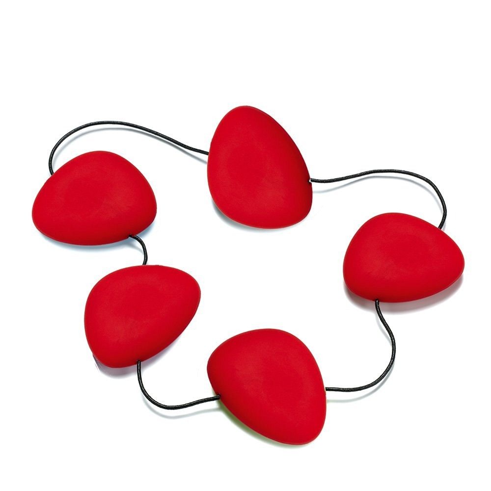 Lib - Trivet 'Hot' - red