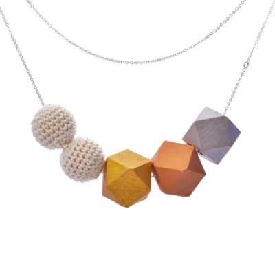 Mon Bijou - Necklace Saint-Tropez 5 Beads