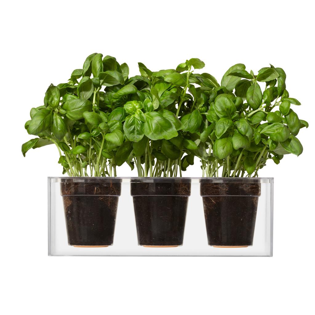BOSKKE Cube Planter Triple | The Design Gift Shop