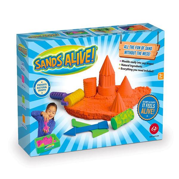 Sands Alive! Coloured Sands Starter Set   The Design Gift Shop