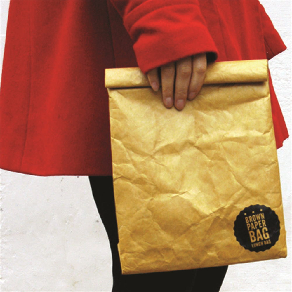 Brown Paper Lunch Bag - insulated | The Design Gift Shop