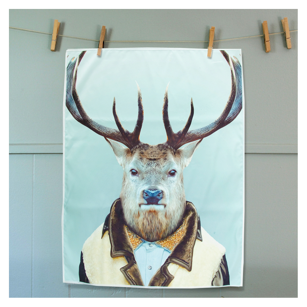 Tea Towel Elk | The Design Gift Shop