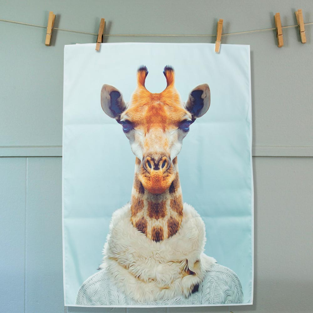 Tea Towel Giraffe | The Design Gift Shop