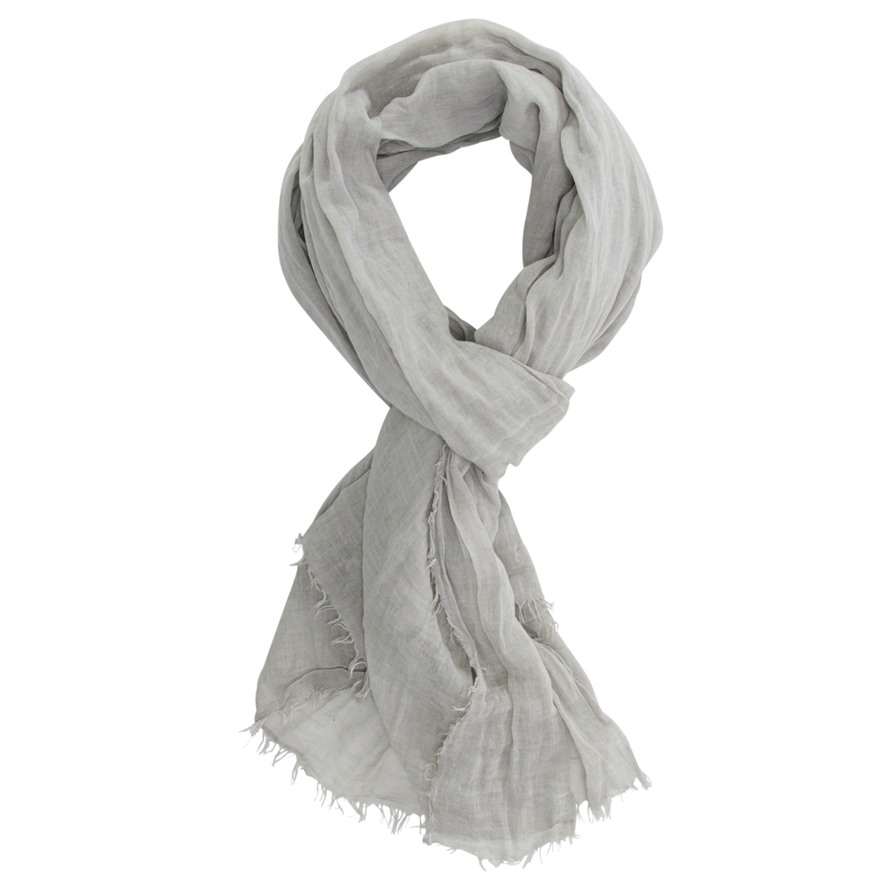 Cotton Scarf Pastel Grey | The Design Gift Shop