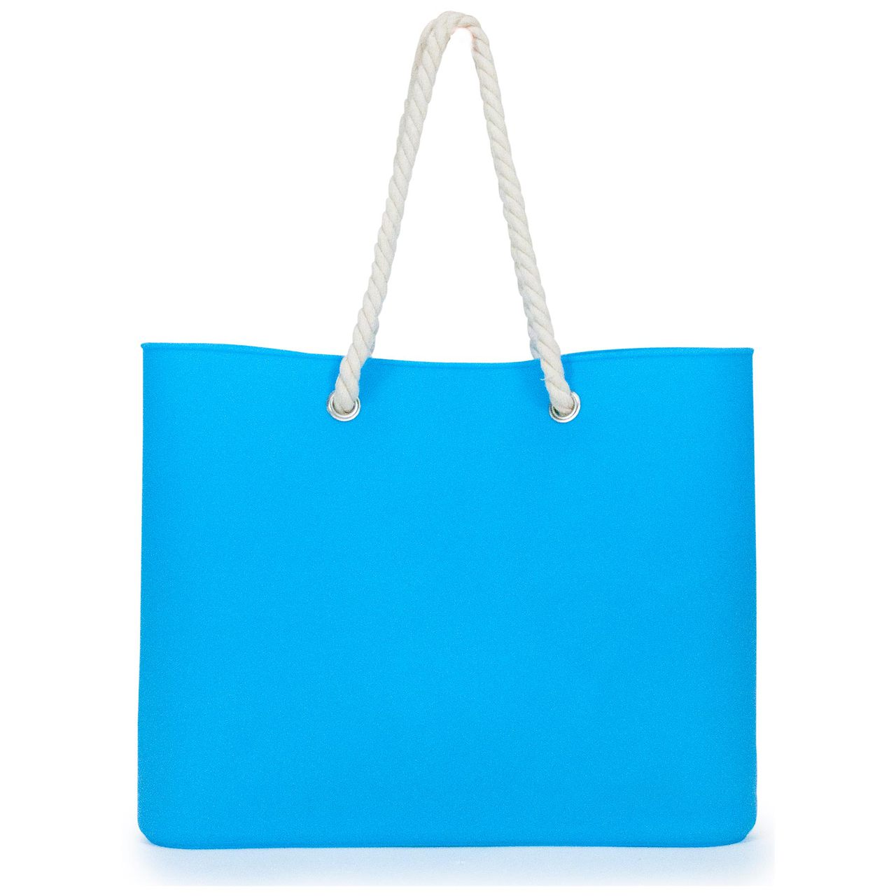 Jelly Tote Silicone in Blue | The Design Gift Shop