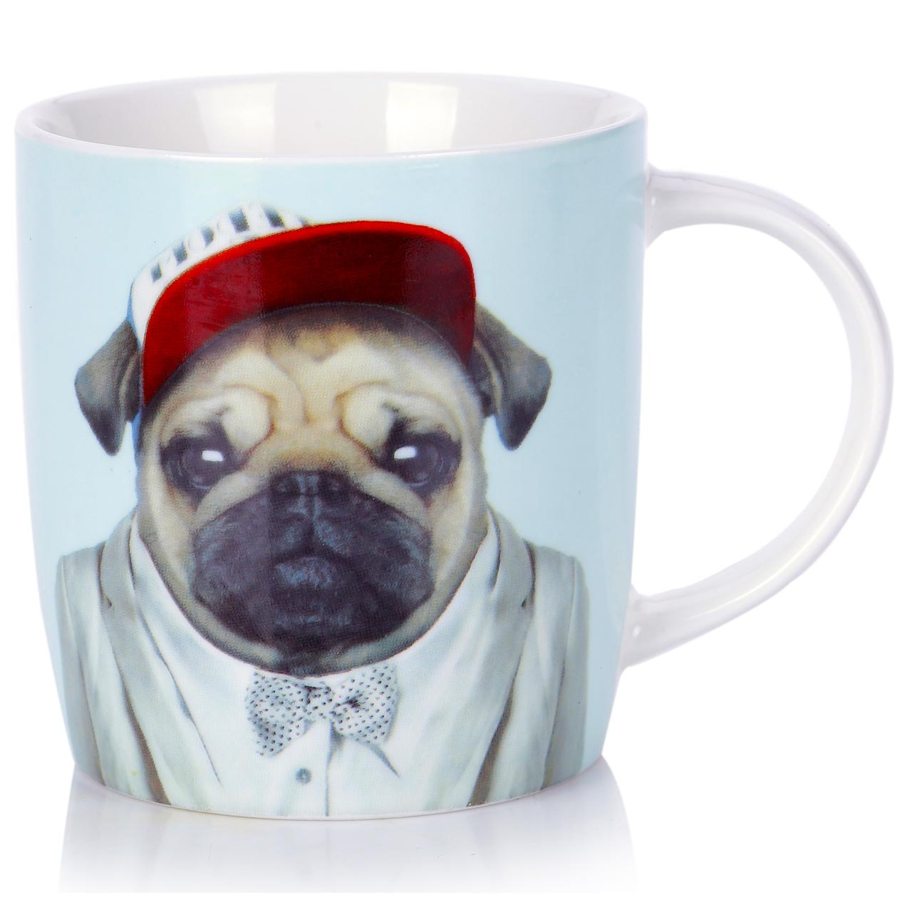 Porcelain Mug Pug | The Design Gift Shop