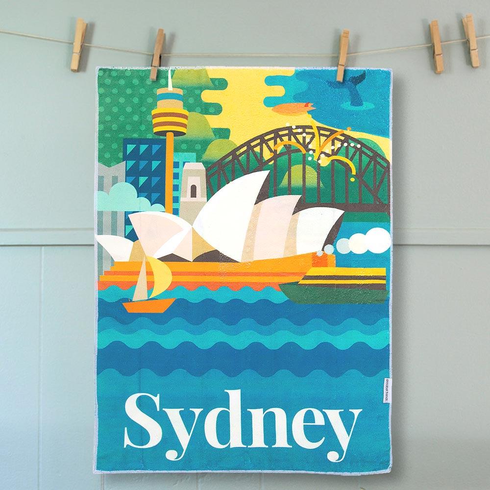 Tea Towel Sydney | The Design Gift Shop