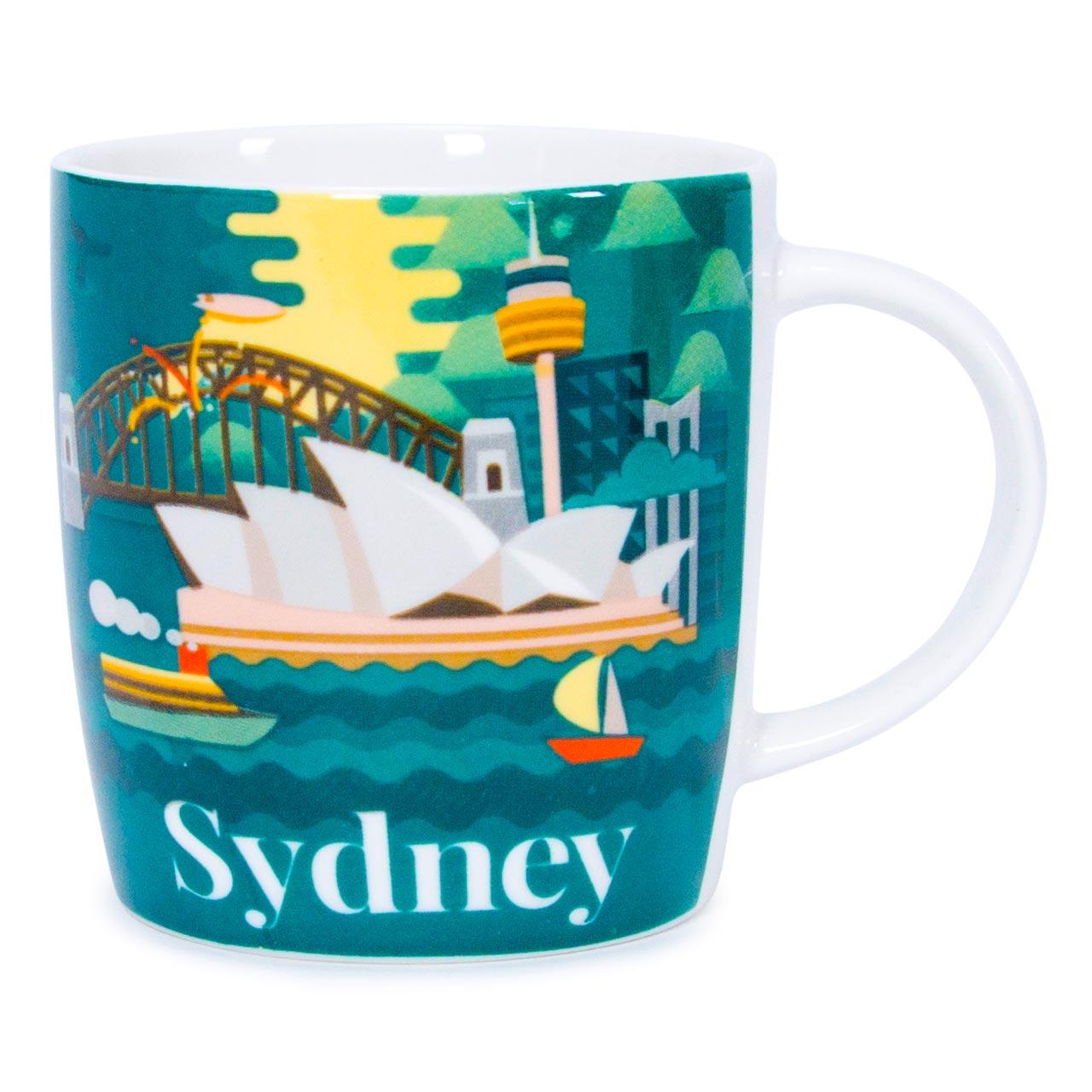 Australia Coffee Mug Sydney | The Design Gift Shop
