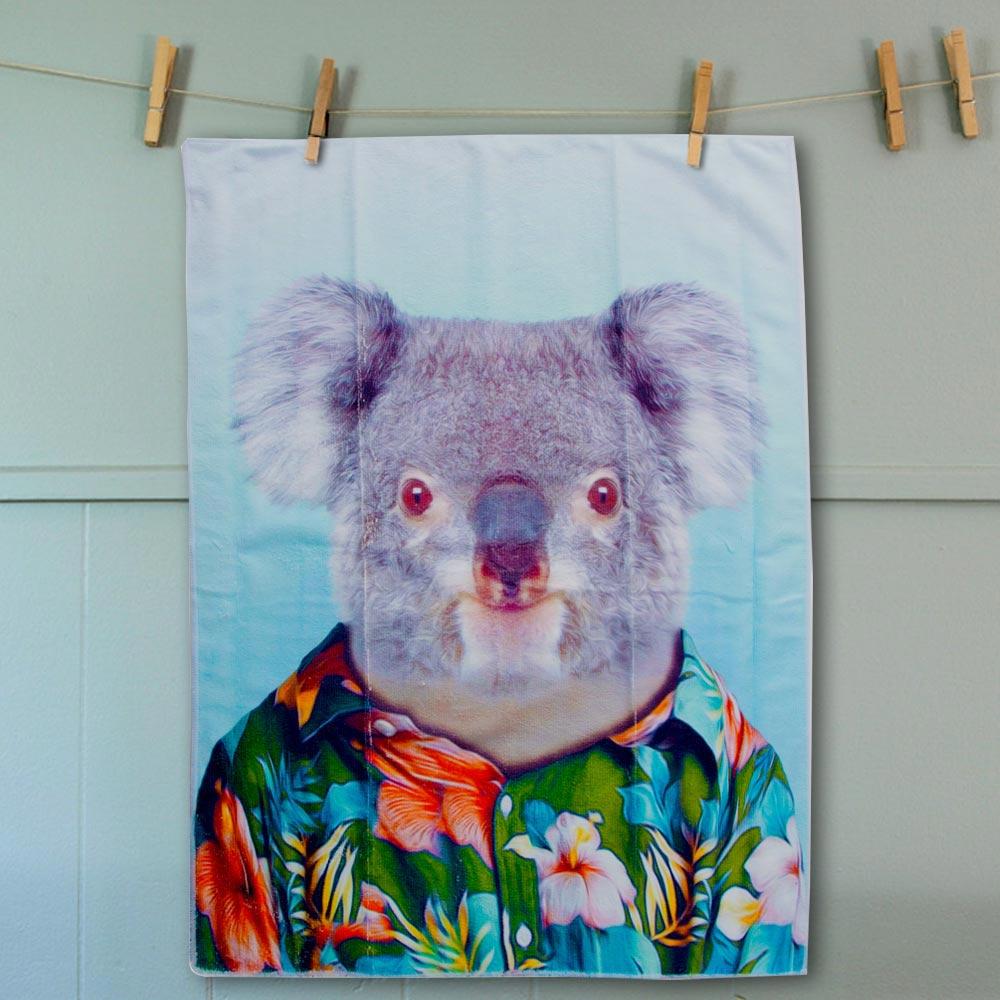 Tea Towel Koala   The Design Gift Shop