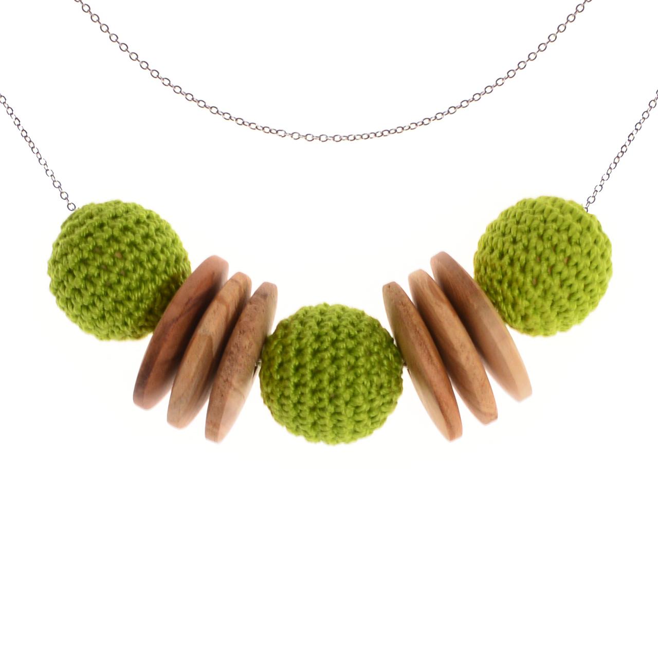 Mon Bijou - Necklace Elegance Nature - Green | The Design Gift Shop