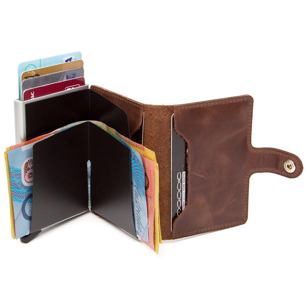 Secrid miniwallet vintage brown leather