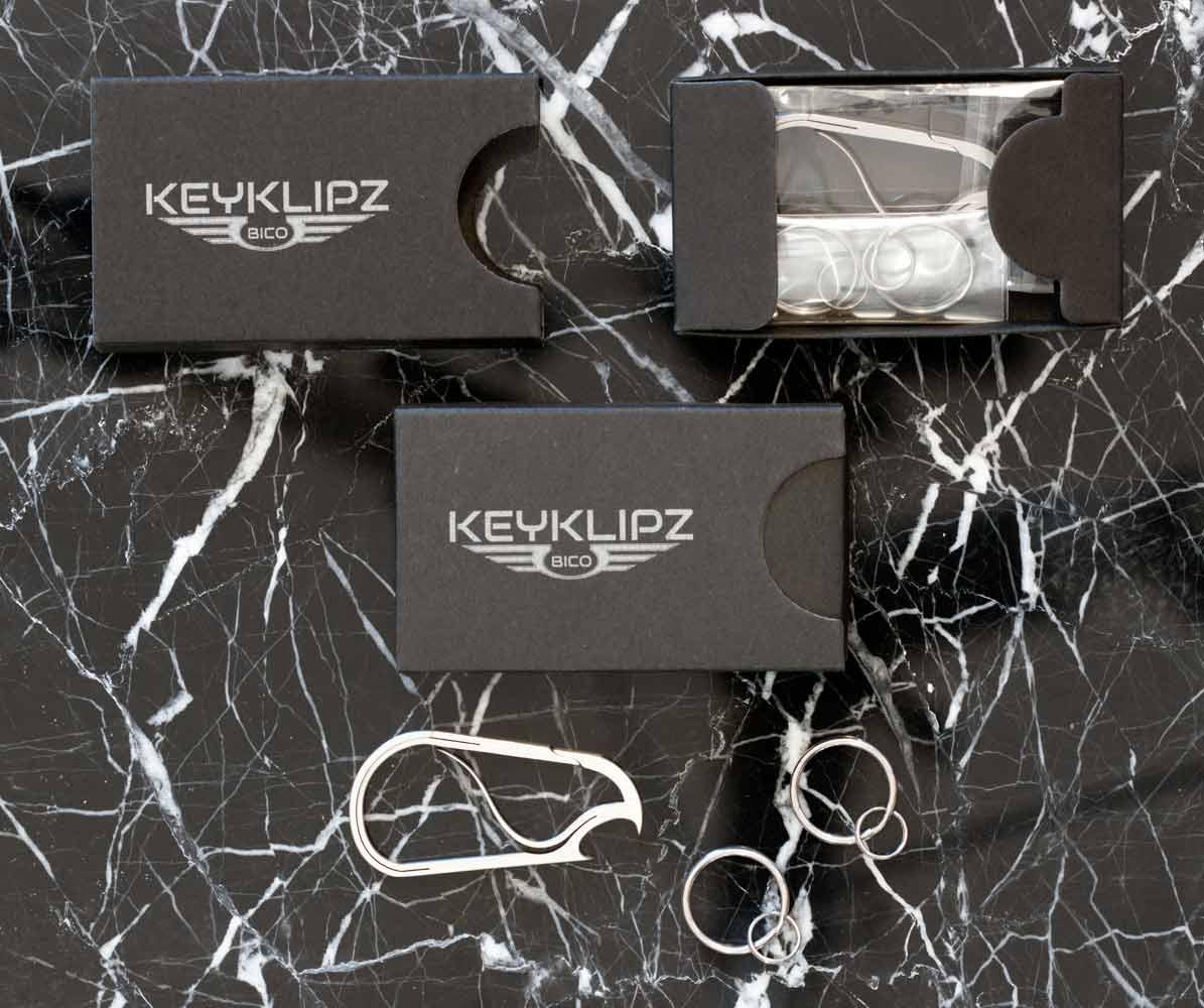 Bico Keyklipz gift box | The Design Gift Shop