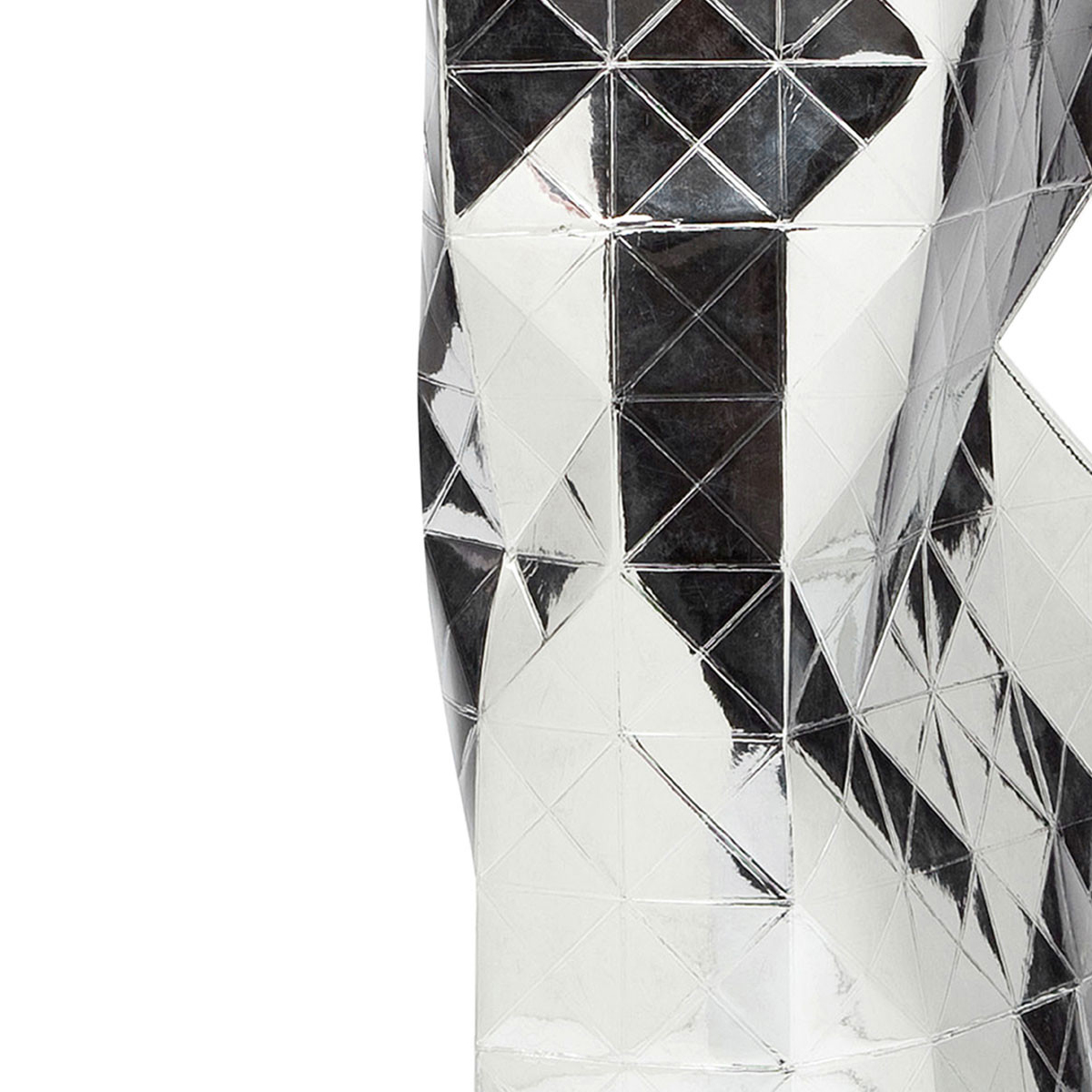 Silver Paper Vase Cover (detail) | The Design Gift Shop