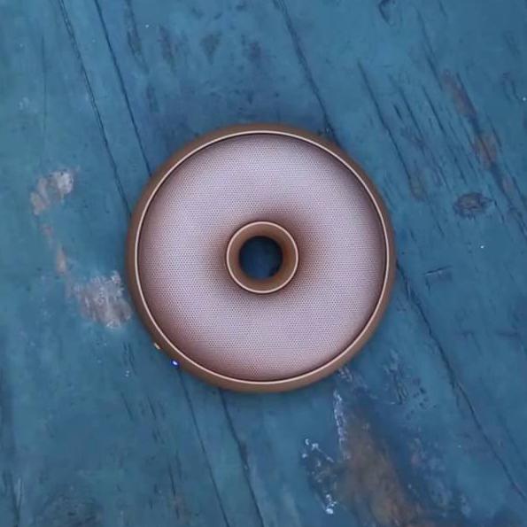 LEXON Hoop Speaker LA95 Copper | The Design Gift Shop