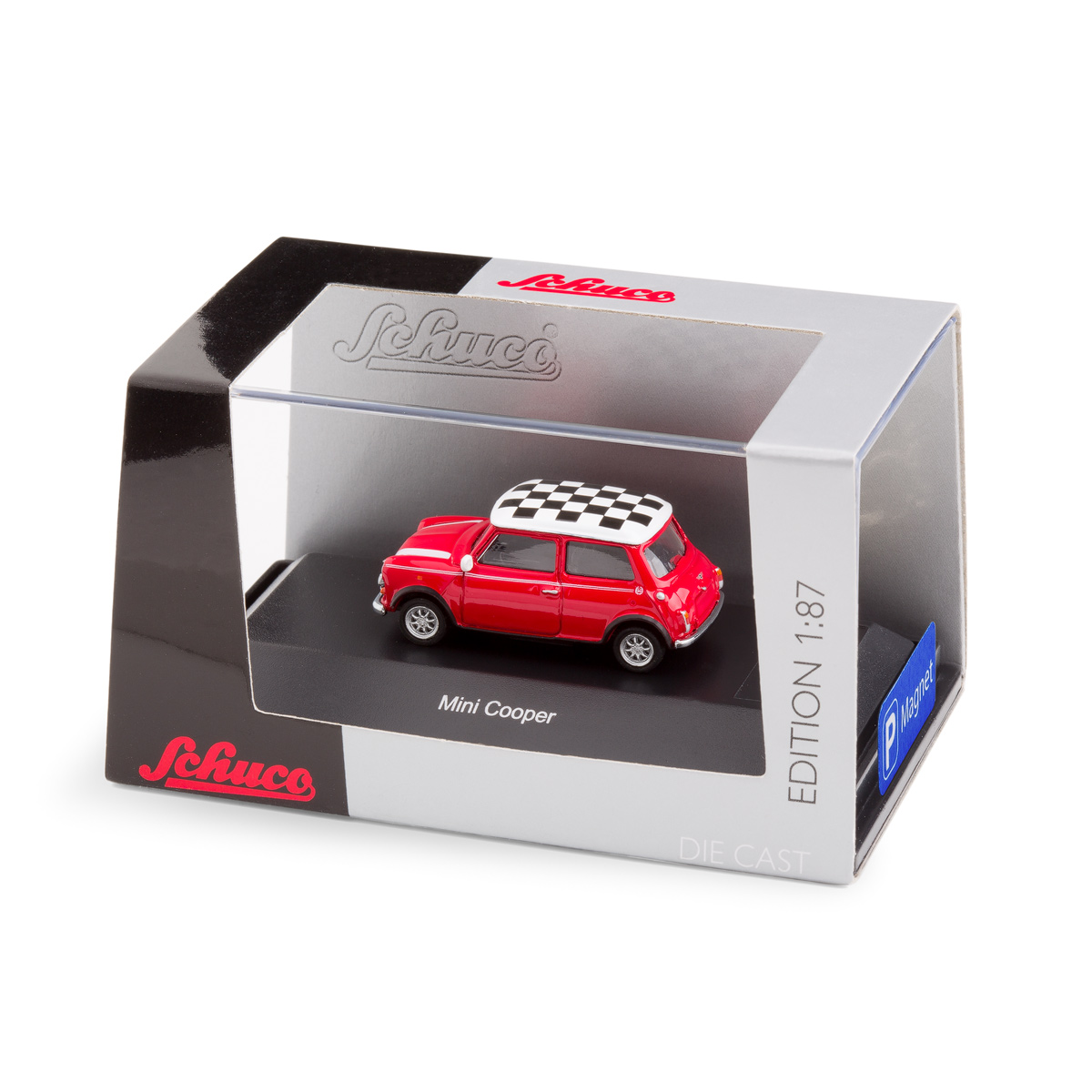 Mini Cooper with magnet in the underfloor | The Design Gift Shop