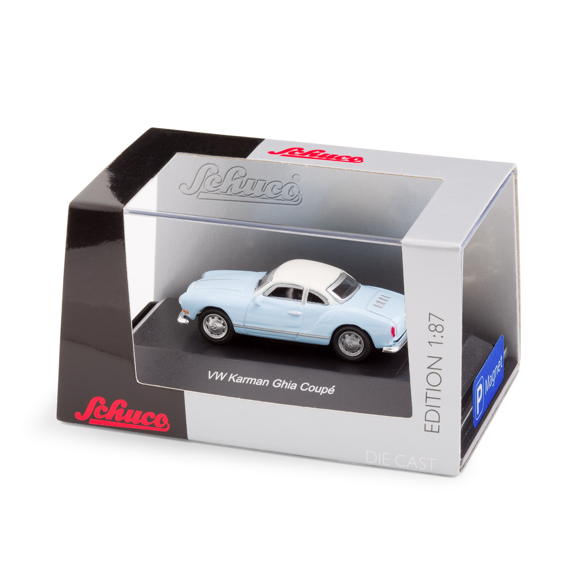 VW Karmann Ghia with underfloor magnet | The Design Gift Shop
