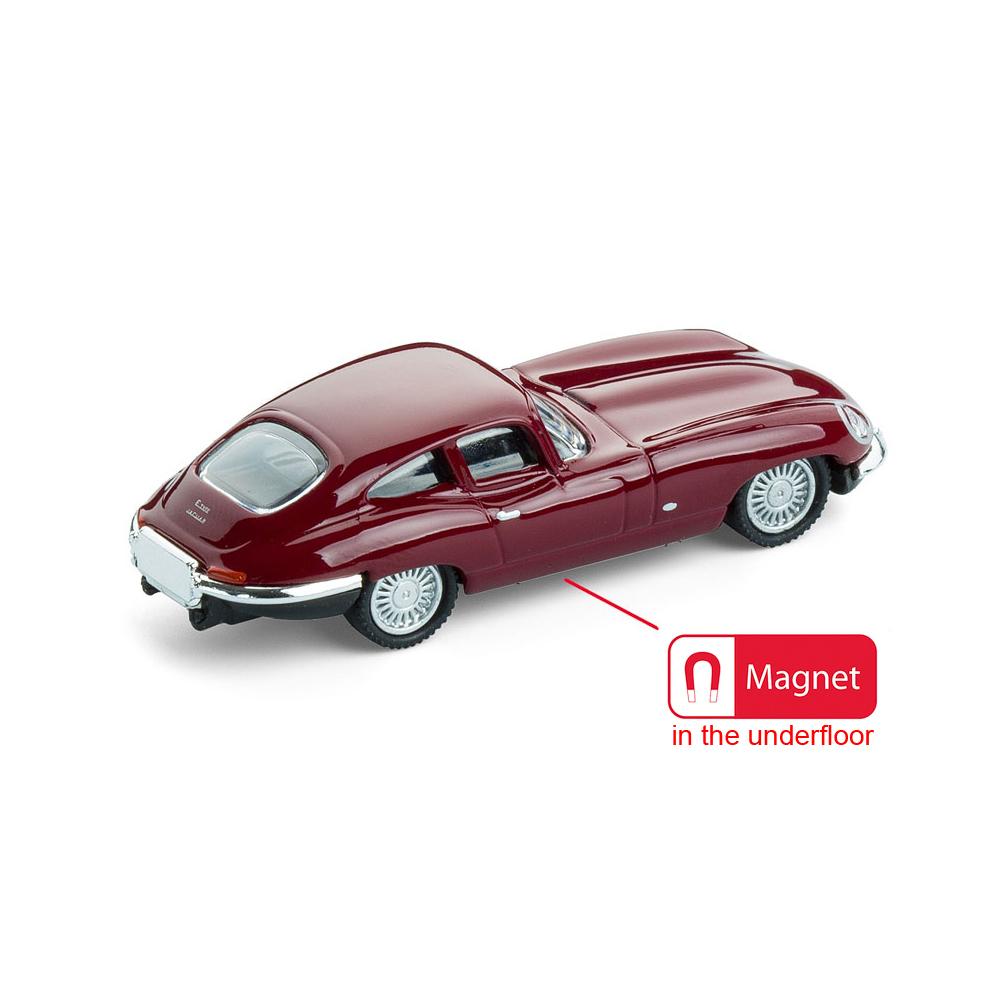 Jaguar E-Type die-cast with underfloor magnet | The Design Gift Shop