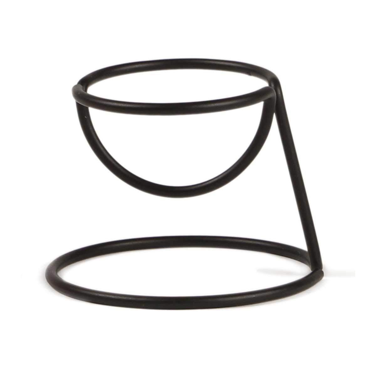 Bendo egg cup Yolk Luxe in black | The Design Gift Shop