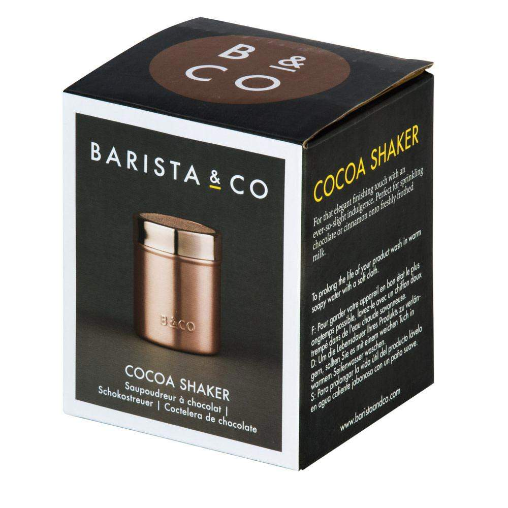 Barista & Co Cocoa Shaker package | The Design Gift Shop