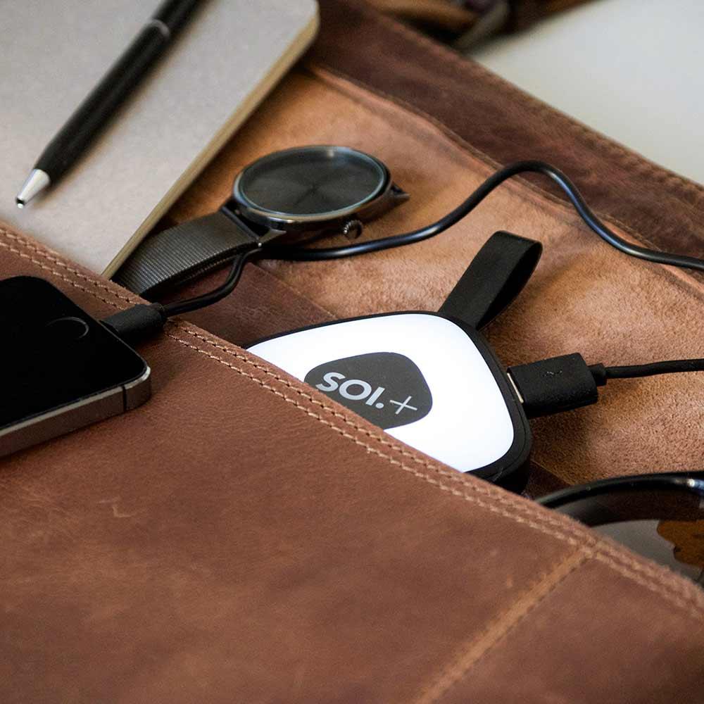 BRAINSTREAM   SOI Plus Handbag Light & USB Power Bank