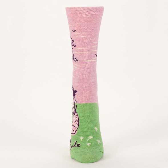 Blue Q Women's Socks 'Cute but Psycho' | The Design Gift Shop