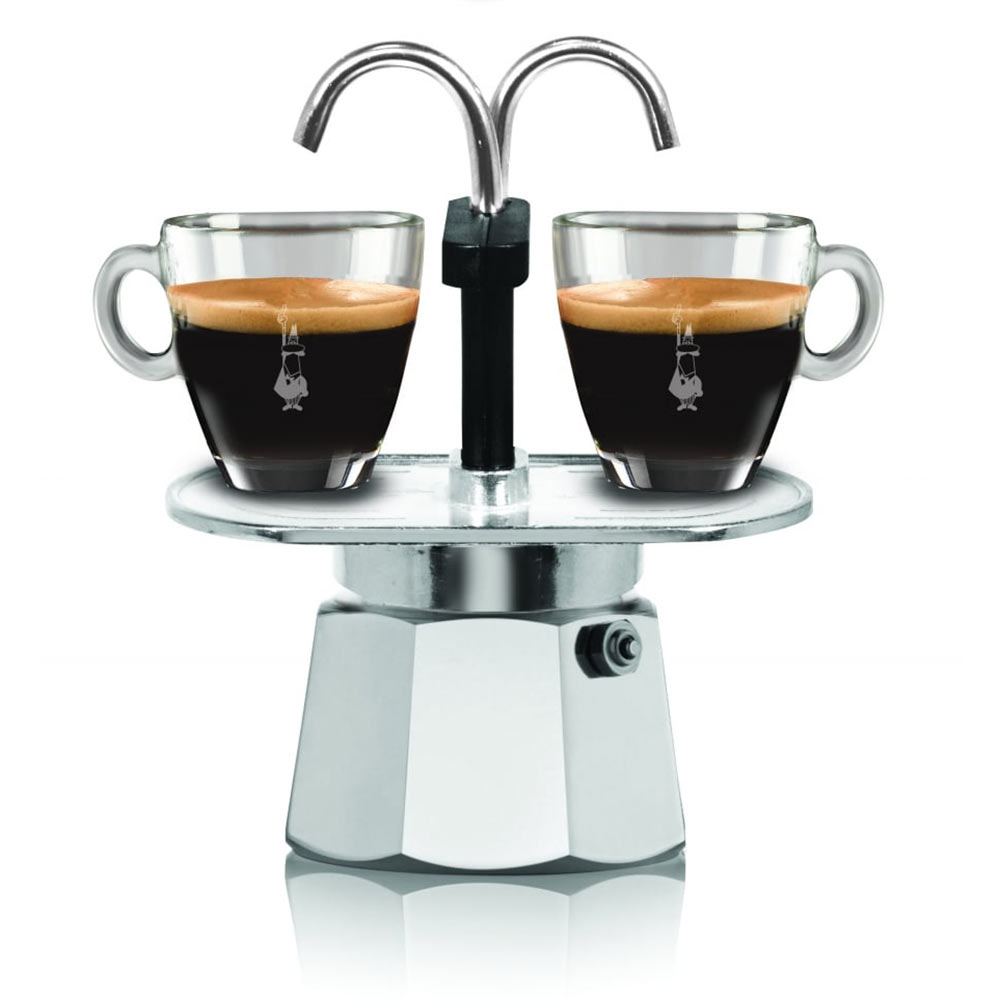 BIALETTI Mini Express 2 Cup Coffee Maker (cups not included) | The Design Gift Shop