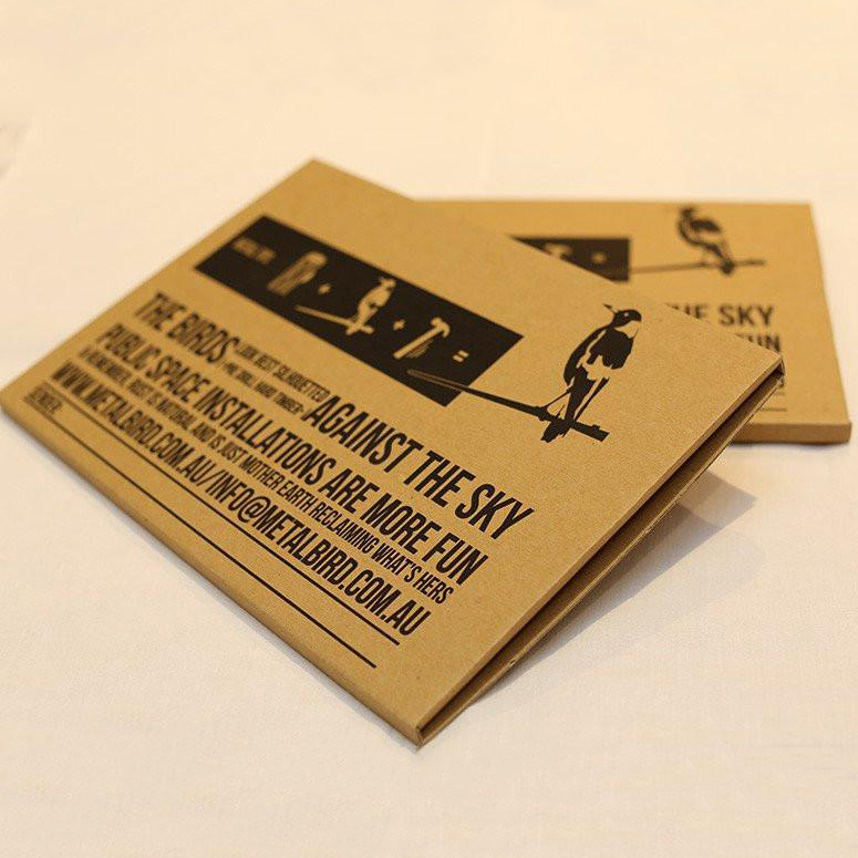 Metalbird Gift Packaging   The Design Gift Shop