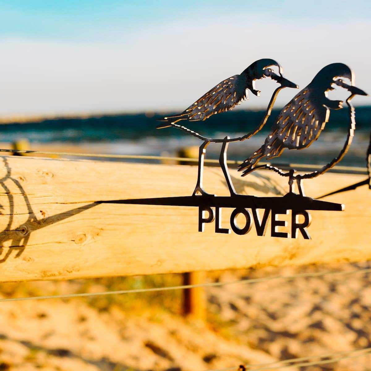Plover Metalbird Corten Bird Silhouettes   The Design Gift Shop