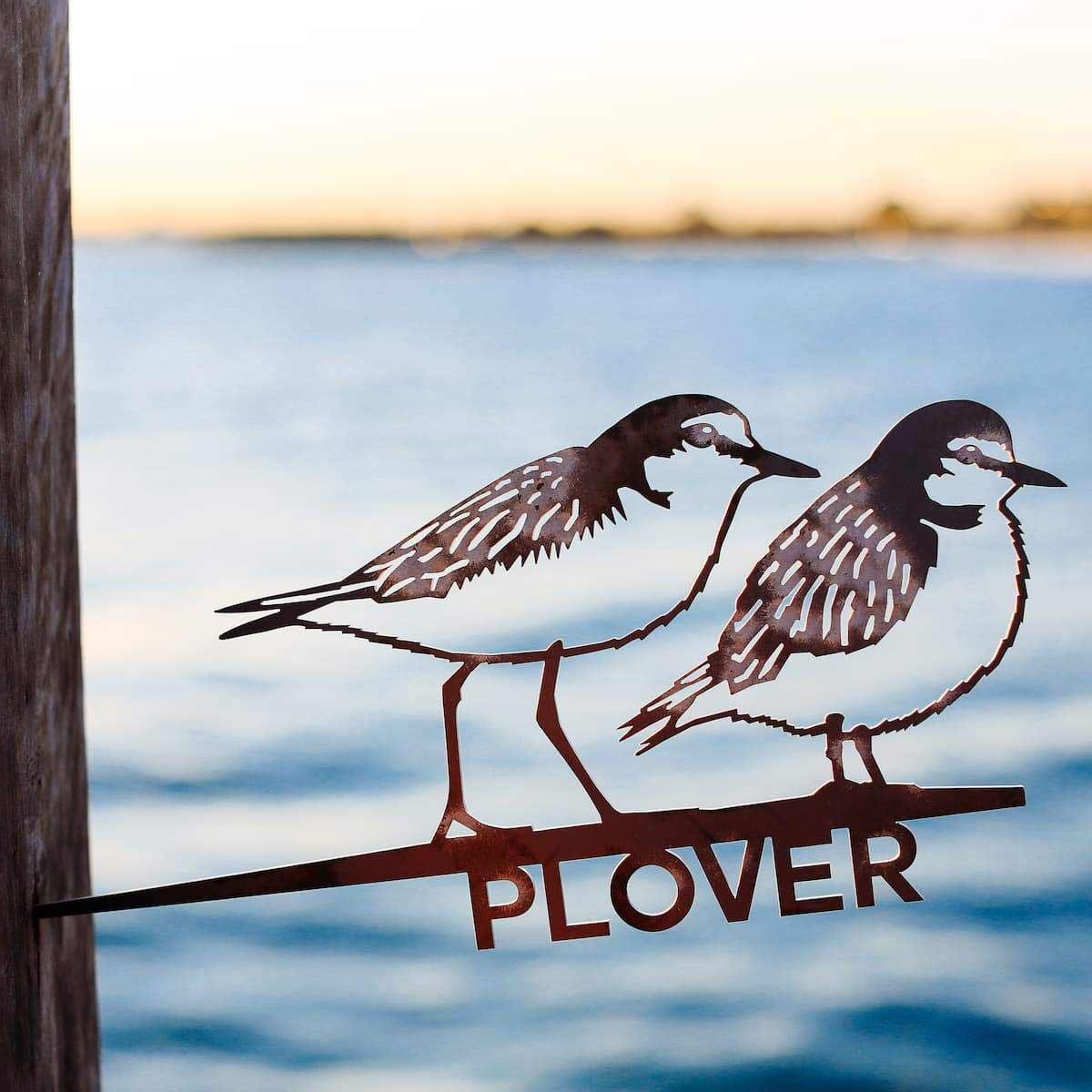 Plover Metalbird Corten Bird Silhouettes | The Design Gift Shop