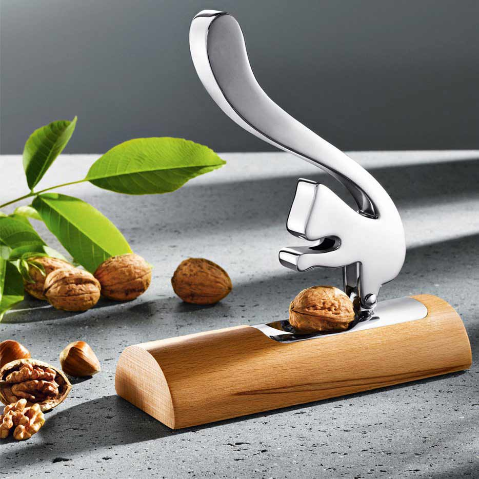 ALESSI Nutcracker Scoiatollo, design Andrea Branzi