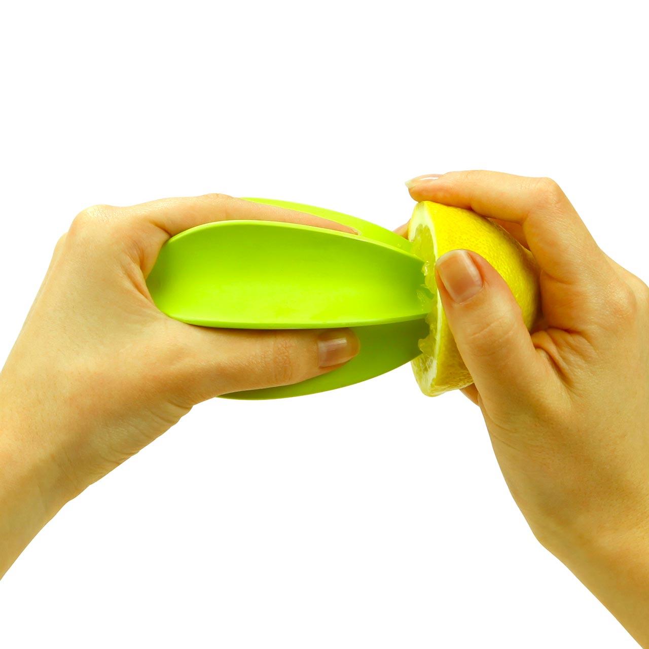 Lemon, Orange or Lime Juicer 'Diego'  Green by COOKUT   The Design Gift Shop
