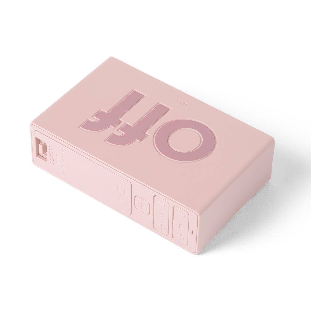 LEXON Flip LCD alarm clock LR130P8 pink | The Design Gift Shop