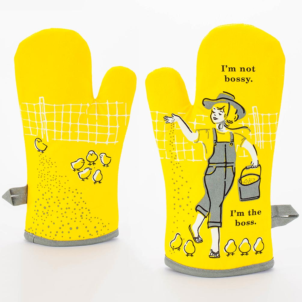 I'm not bossy. I'm the boss. - One Oven Mitt by Blue Q  | The Design Gift Shop