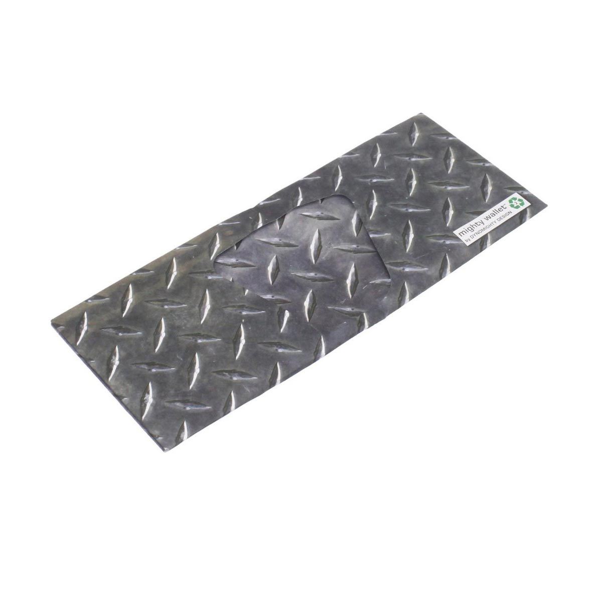 Mighty Wallet Diamond Plate   The Design Gift Shop