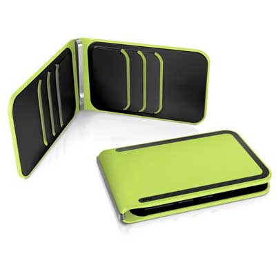 DOSH LUXE 6 card wallet, style Moss