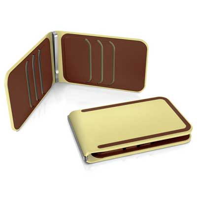 DOSH LUXE 6 card wallet, style Cookies & Cream
