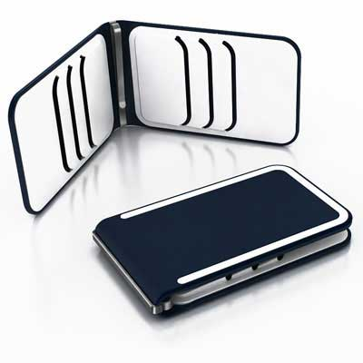 DOSH LUXE 6 card wallet, style Concord