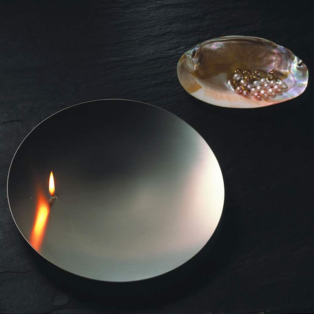 MONO CONCAVE 26 stainless steel oil lamp