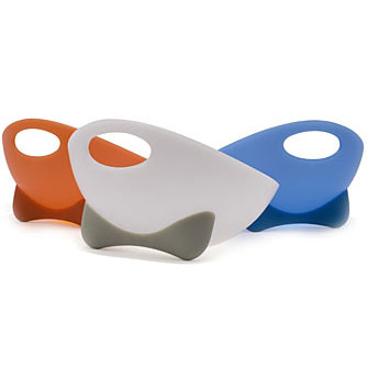 WETNOZ - SCOOP - 3 cup polypropylene bowl with rubber feet