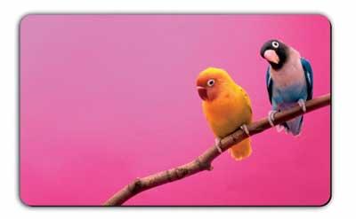 REMEMBER Bread Board FANTASY BIRDS