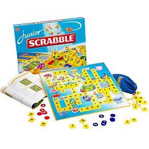 SCRABBLE JUNIOR, kids word game