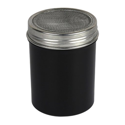 Black cacoa shaker