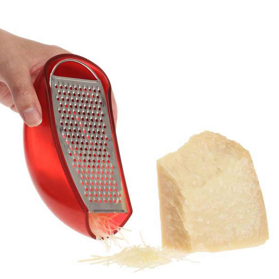 ALESSI | Cheese Grater | Parmenide red