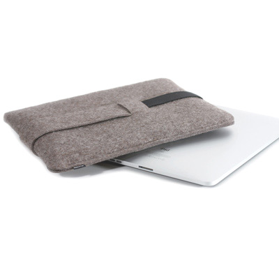 dekoop Babuschka - Grey Felt iPad Sleeve (iPad not included)
