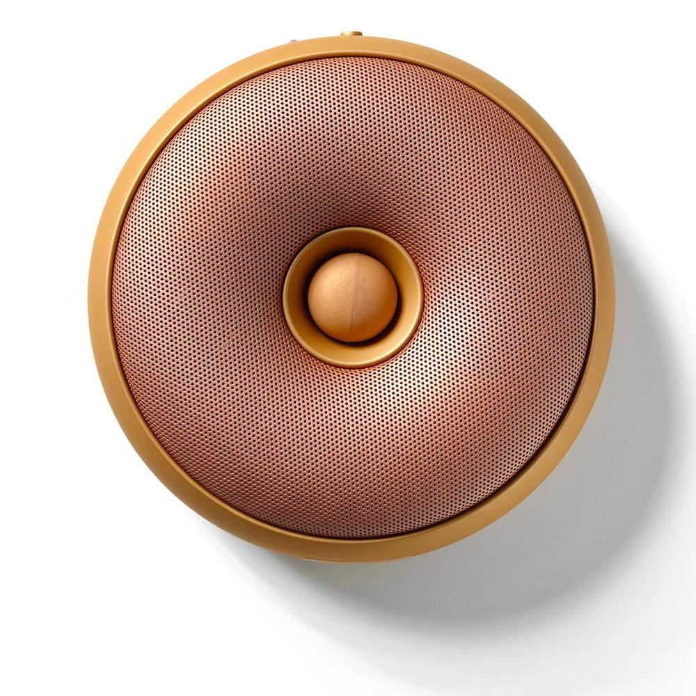 Lexon Hoop Bluetooth Speaker Copper The Design Gift Shop