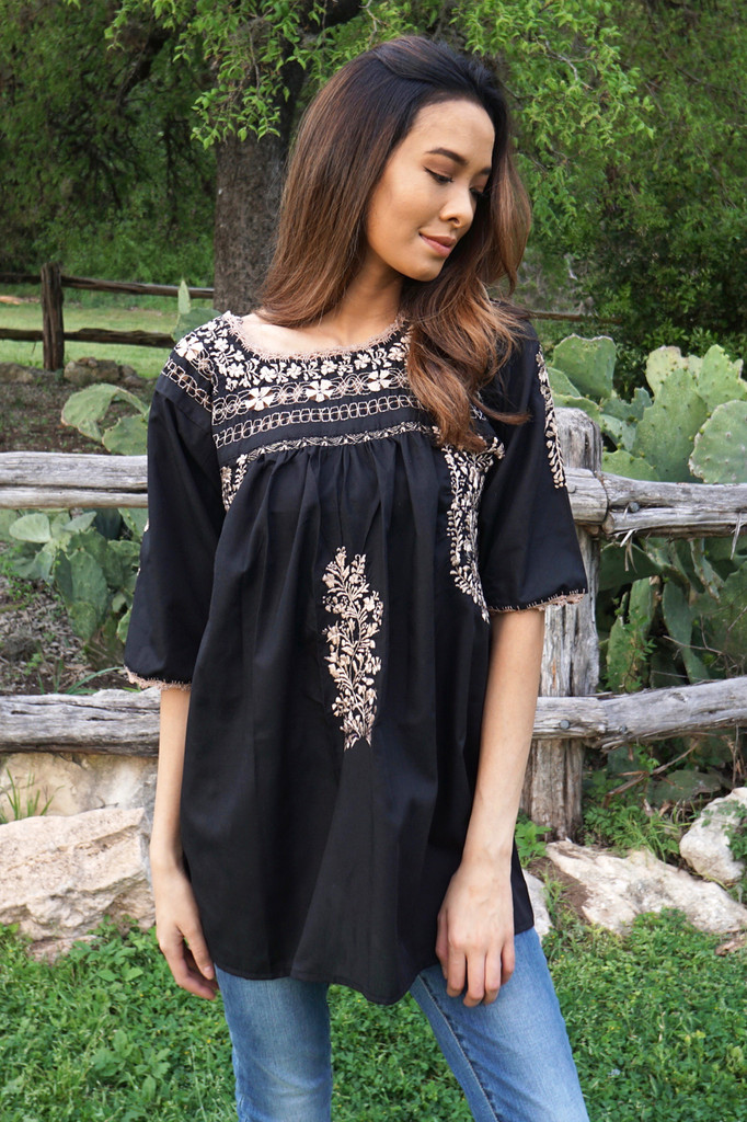 4a5c0f440054 Handmade Mexican Top | The LunaMia Collection