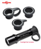 SureFire Combat Rings CR-KIT01 - Allows a shooter to hold and activate a tailcap activated flashlight whil maintaining a good grip on firearm