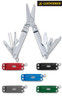 """Leatherman 64010101K Micra Stainless - 2.5"""" Closed - 10 Tools - Spring Action Scissors - Satin Finish Stainless Steel Handle"""